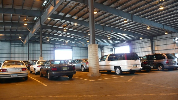 Parking in a Warehouse?